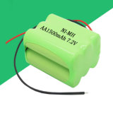 판매를 위한 NiMH 건전지 팩 AA1500mAh 7.2V