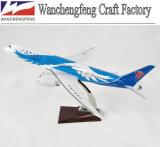 Vorbildliches flaches Schuppen-Flugzeug-Modell Boeing-B787-8