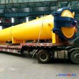 高性能の産業蒸気暖房AACの煉瓦オートクレーブ
