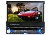Één Speler van de Auto DVD/CD/van de Auto van DIN Audio StereoMP3 met het Afneembare Scherm 7inch