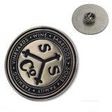 卸し売り堅いエナメル磁気クラブ折りえりピン(W-55)