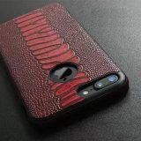 Розничный случай iPhone x аргументы за крышки дела Smartphone TPU кожаный Hybird зерна крокодила пакета