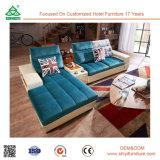 Sofà moderno del tessuto di nuovo disegno, insiemi del sofà del tessuto, mobilia del sofà