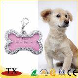 Tag de cão personalizados venda por atacado do metal