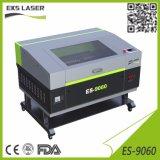 Kleiner Maschine CO2 Laser-Scherblock und Gravierfräsmaschine
