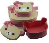 Het het leuke Vakje van de Gift van de Teddybeer/Pakket van het Document van het Suikergoed/Mooi Vakje