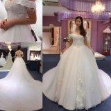 Выключение взять на себя длинный поезд устраивающих Дамы платье свадебные Gowns