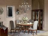 Y06 - bois massif blanc frais Décoration de couleur Argent Pièces Table à manger
