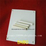 Alumine faite sur commande de polissage élevée Rods en céramique et plaques