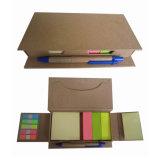 Costumbre estudiante Portable papel adhesivo el Bloc de notas con bolígrafo