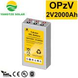 Batteria tubolare di potere 2V 2000ah Opzv del Yangtze