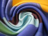 Tela de materia textil impresa poliester de encargo al por mayor de China