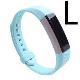 12 cores disponíveis borracha fina faixa de relógio de silicone para alta Fitbit Hr