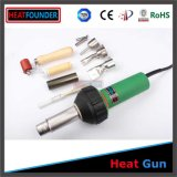 Цвет кузова зеленый Heatfounder zx1600 сварочный аппарат горячего воздуха с принадлежностями