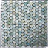 Dekorative runde Glasmosaik-Fliese für Wand und Decke