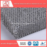 En forma de panal de acero suave núcleo para la ventilación de aire