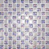 Mosaïque en cristal en verre de mélange de couleur de prix de gros bleu de mosaïque
