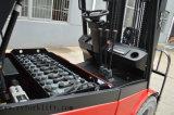 ドイツ行商人電池が付いている4-Wheel 3.5t電気フォークリフト