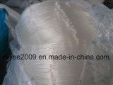 Filet de pêche blanc de nylon de palan de pêche de monofilament