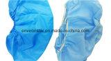 Nichtgewebte Schuh-Deckel preiswerter des Staub-Wasser-Beweis-Wegwerfregen-PlastikSBPP/Wegwerf-PET wasserdichter Plastikaufladungs-Schuh-Deckel