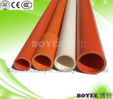 Conducto del cable eléctrico del PVC