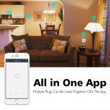 De slimme Afzet van de Contactdoos WiFi Compatibel met Amazonië Alexa
