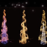 Cuerda de LED impermeable motivo de la luz LED de la decoración de las luces del árbol de Navidad