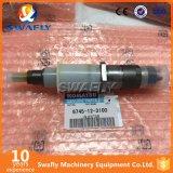 Iniettore di combustibile di KOMATSU PC300-8 6745-12-3100 per la vendita (6D114)