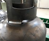 Máquina de soldadura da saia do cilindro do LPG do controle de Digitas