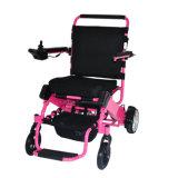 Fáceis idosos carreg a cadeira de rodas elétrica de dobramento com bateria de lítio