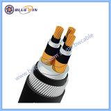 IEC60502-2 12/20kv 고압선에 중간 전압 케이블 Cu/CS/XLPE/Is/Cts/PVC