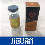 La mejor inyección del precio de la impresión libre del diseño que empaqueta la escritura de la etiqueta esteroide del frasco 10ml