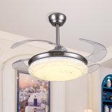 현대 디자인 좋은 품질 중국 공급자에게서 빛을%s 가진 장식적인 천장 선풍기