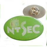 Custom металлические печати фирменного светодиода Эмблему Держателем