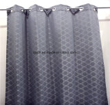 2018 Рынок популярных серый геометрический рисунок полиэстер горячая продажа окно с одной спальней шторки тканью