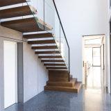 Escaliers en bois de flottement d'escalier d'échelle d'intérieur
