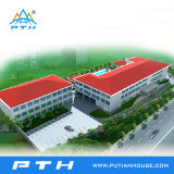 Structure légère en acier de construction préfabriqués pour l'école/hôtel/Shopping Mall