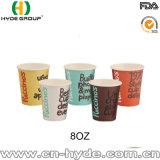 Barato al por mayor de la Copa de papel personalizado/taza de café de papel desechables