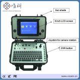 Cctv-Farben-Videokamera-Zeile Inspektion des Abwasserkanal-Abflussrohrs mit 360 Grad drehen Kamera-Kopf