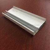 Quadrato, profilo rotondo e differente dell'espulsione della lega di alluminio per il portello e tubo 114 della finestra