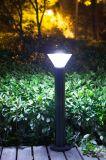 Luz solar impermeable del césped del LED