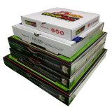 다른 크기 피자 서류상 포장 음식 상자