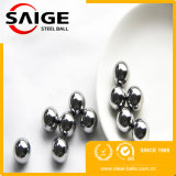 bille propre d'acier inoxydable de produit chimique de la surface AISI304 de 6mm