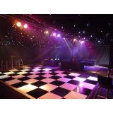 Dance Floor portatif Dance Floor Wedding noir et blanc extérieur amovible