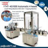 냉각액을%s 캡핑 기계로 채우기 (YT4T-4G1000와 CDX-1)