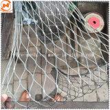 Трос из нержавеющей стали сетки ограждения для обеспечения безопасности