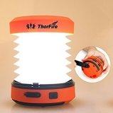 Thorfire LED kampierender Laterne-Kurbel USB nachladbar