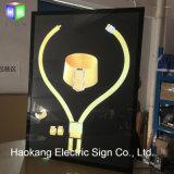 Boîte à lumière LED avec tablette de restaurant Fast Food pour équipement de restaurant