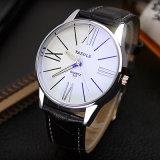 Einfache Armbanduhr-Form-Art-Mann-Quarz-Uhr des Geschäfts-Z315