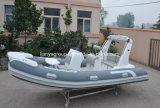 Liya 520cmのガラス繊維の外皮の堅く膨脹可能な救命ボートの販売